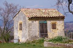 unusual stay in provence (delphine imbert) Tags: provence cabanon nature malaucene vaucluse pierre printemps séjour vacances stay holidays
