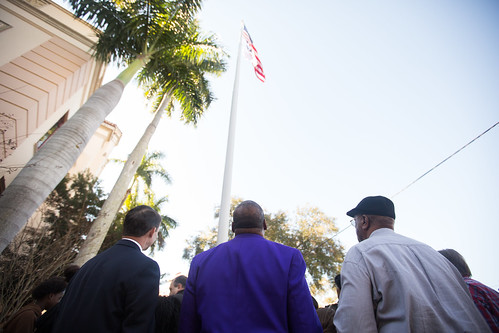 Black History Flag Raising St. Petersburg