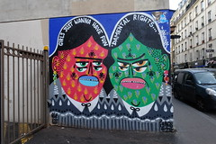 Street art @ Paris 11 (*_*) Tags: paris france europe city winter march 2017 paris11 75011