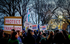 2017.02.22 ProtectTransKids Protest, Washington, DC USA 01081