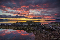 Skye sunset (kidda63) Tags: sunset sky clouds reflections serene