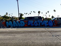 MAID RETRO (UTap0ut) Tags: california art cali graffiti la los paint angeles retro socal cal graff maid utapout
