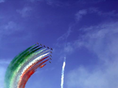 frecce tricolore aerei 5