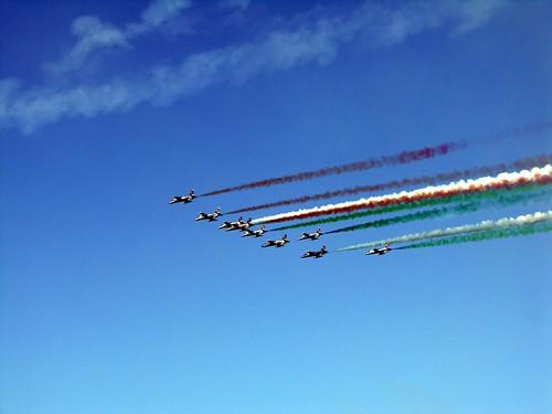 frecce tricolore aerei 4