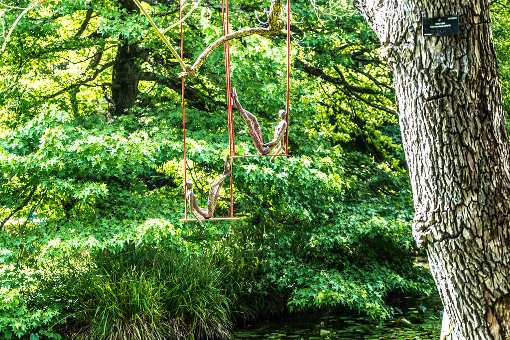 SCULPTURE IN CONTEXT 2015 AT THE NATIONAL BOTANIC GARDENS [UNOFFICIAL PREVIEW] REF-107320