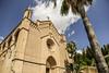 Transfiguracio del Senyor (ax.stoll) Tags: city sky church del clouds palms sunny mallorca arta senyor transfiguracio