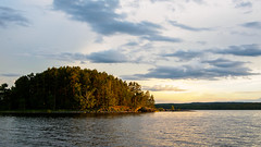 Sunset at Tjuvholmarna (niklasrhose) Tags: sunset lake glafsfjorden