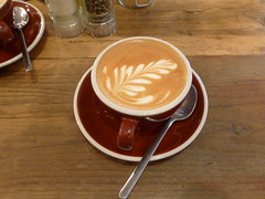 Yorks Bakery Cafe, Birmingham (duncan) Tags: coffee birmingham coffeeshop caffelatte latte latteart yorksbakerycafe