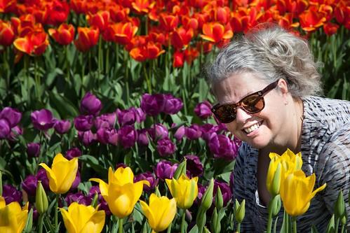 Annie at Tulip Festival-3