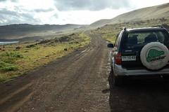 SUV  (James Q Chang) Tags: chile plateau suv easterisland lanscape
