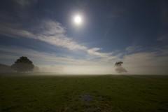 Before The Shadow (Nige_B) Tags: moon misty night landscape fields moonlight bej