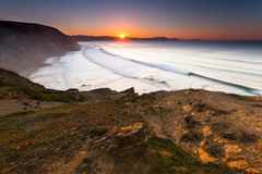 Acantilado (Alfredo.Ruiz) Tags: sunset sea beach canon atardecer mar playa bizkaia barrika ef1740 eos6d