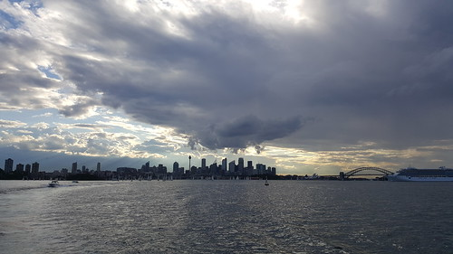 Cloudy Skies Over Sydney