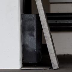It's a gray world (zeh.hah.es.) Tags: white metal concrete grey schweiz switzerland zurich gray grau zrich metall weiss beton kreis5 zehhahes