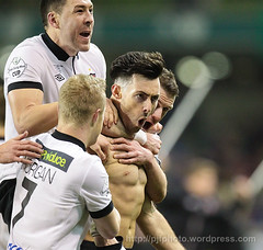 Irish Daily Mail FAI Cup Final, Cork City FC v Dundalk FC; Credit Peter Fitzpatrick (ExtratimePhotos) Tags: ireland dublin sports football soccer richie sporting fai irl towell codublin corkcityfc dundalkfc avivastadium irishdailymailfaicupfinal