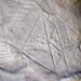 Ancestral Shoshone Indian petroglyph (~1000 to ~200 years old) (White Mountain Petroglyphs, southwestern Wyoming, USA) 4