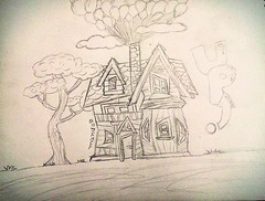Casa do filme UP em cartoon  (Mands Arts) Tags: pictures blue trees friends people cloud house tree home up azul clouds digital person casa 3d friend paint gente image drawing brother retrato tag baloon cartoon theend altas picture imagens balo ground pic tags images tenis end etc rafael draw desenhos ilustrao desenho baloons caricatura pintura culos imagem caricaturas joice aventuras bales baloes desenhando esboo ilustracao desenhar balao pinturadigital mydraw encomenda encomendas ilustraao digitalizao ilustraco ilustaao upaltasaventuras