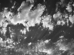 Glory Clouds (J Swanstrom (Check out my albums)) Tags: sky blackandwhite bw monochrome sunshine clouds photography j ray kodak glory dx7590 cloudscape swanstrom