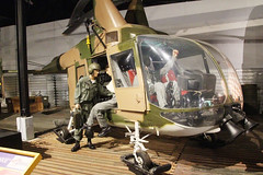 Kaman HH-43F Huskie USAF 58-1853 (NTG's pictures) Tags: museum georgia aviation robins warner usaf kaman huskie hh43f 581853