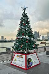 Christmas ChariTree #16 (chooyutshing) Tags: singapore display celebrations communitychest attractions marinabay waterfrontpromenade urbandevelopmentauthority fundsraising touchcommunityservices christmaschairtrees christmasfestival2015 wohhuppteltd