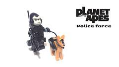 Ape Police (bbchai) Tags: scene minifigure