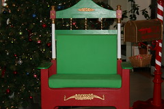 Santa Chair and mailbox
