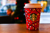 Starbucks_ (MartinHots) Tags: disposable cup starbucks red hot takeaway cafe macro depthoffield day table tea