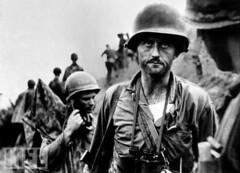 Capt. Ike Fenton in Korea 1950 (Peer Into The Past) Tags: semperfi marinecorps marines usmc peerintothepast supportourveterans thousandyardstare vintage theforgottenwar daviddouglasduncan 1950 history koreanwar
