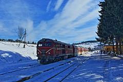 Winter story in the mountains (railstyle) Tags: train bdz bulgaria avramovo railway winter бдж аврамово теснолинейка