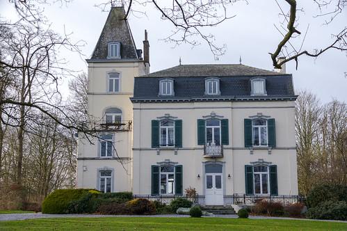 Faimes, herenhuis in Waleffe-Saint-Georges
