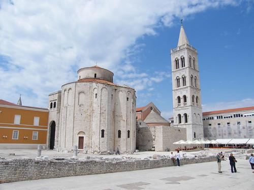 Zára, Szent Donát-templom és Szent Anasztázia-székesegyház