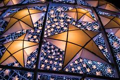Shoot for the Stars (Blue Nozomi) Tags: christmas xmas star parol lantern 2016 ball yellow blue bay