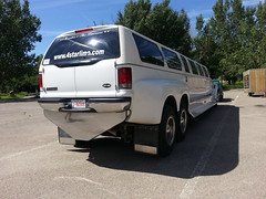 Excursion Limo (truckhardware) Tags: gatorback ford limo dually