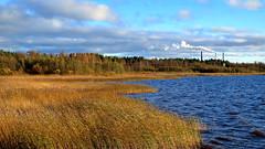 Contrasts (PeterCH51) Tags: finland coast coastline smoke nature industry sea factory peterch51 suomi finnland scenery landscape explore explored inexplore