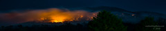 Fire on the Mountain (Ron Harbin Photography) Tags: smoky mountains fire smoke night stars east tennessee gsmnp greatsmokymountainsnationalpark colorful dangerous arson woods burn forest usa