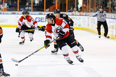 "Missouri Mavericks vs. Cincinnati Cyclones, January 25, 2017, Silverstein Eye Centers Arena, Independence, Missouri.  Photo: John Howe / Howe Creative Photography • <a style=""font-size:0.8em;"" href=""http://www.flickr.com/photos/134016632@N02/31746422203/"" target=""_blank"">View on Flickr</a>"
