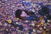 my other Ophelia (visual_sigh) Tags: ophelia autumn leaves melancholia muse dream youth drowning unusualbeauty conceptual
