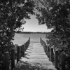 To the water (Tim Ravenscroft) Tags: jetty ocean sarasota monochrome blackandwhite florida spanishpoint