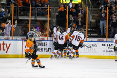 "Missouri Mavericks vs. Quad City Mallards, December 31, 2016, Silverstein Eye Centers Arena, Independence, Missouri.  Photo: John Howe / Howe Creative Photography • <a style=""font-size:0.8em;"" href=""http://www.flickr.com/photos/134016632@N02/31972644311/"" target=""_blank"">View on Flickr</a>"