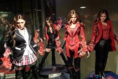 Scarlet Witch (becauseBATMAN) Tags: hot toys 16 scarlet witch olsen elizabeth figure collection kit bash kitbash uniform red effect black