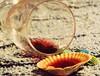 Summer wine... HMM! (Gianna Fou.) Tags: macromonday inspiredbyasong summer wine glass seashell seethrough flickrfriday