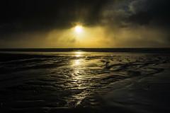 Evening Light (jfusion61) Tags: washington kalaloch beach water pacific ocean clouds sunset reflection nikon d810 2470mm yellow flats northwest storm rain light rays olympic national park