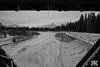 Frosted Engine Bridge (ryan.kole32) Tags: canmore canmorealberta alberta canada canadianrockies rockies rockymountains blackandwhite monochrome winter snow ice persepctive landscape nature beauty beautyinnature travel outdoors hiking bridge abstract banff banffalberta banffnationalpark nationalpark trees forest sony sonya77