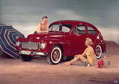 1956 ... Saab-o-rama! (x-ray delta one) Tags: jamesvaughanphotography populuxe retro advertising americana nostalgia suburbia suburban magazine popularscience popularmechanics atomic housewife car conceptcar