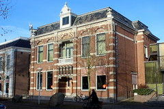 Balk, the library (Davydutchy) Tags: balk fryslân friesland frisia swf súdwestfryslân gemeente county municipality netherlands niederlande paysbas nederland holland bibliotheek library bibliothek january 2017