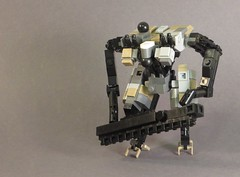Urban Hellion (Dryvvall) Tags: drone dronuary robot walker mech