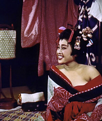 Geisha Girl (~ Lone Wadi ~) Tags: japanese japan geisha geishagirl retro 1950s beauty asia asian