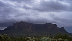 sOLACE sOUGHT iN a sONORAN sTORM 23a (wNG555) Tags: 2017 apachejunction apachetrail superstitionmountain superstitionwilderness sonorandesert desert cactus sky storm clouds winter olympusfzuikoautos38mmf18 hdr inspiredbylove fav25 arizona phoenix