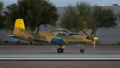 Pilatus PC-7 (hotdog.aviation) Tags: n517gm t2i canon pc7 pilatus pilatuspc7 scottsdale scottsdaleairport ksdl