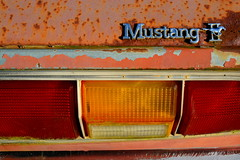 Rustang II (Todd Evans) Tags: nikon d7100 ford mustang mustangii car auto automobile rust rusty